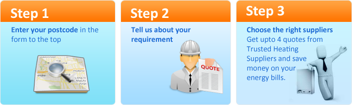 Trusted Heating Suppliers Steps